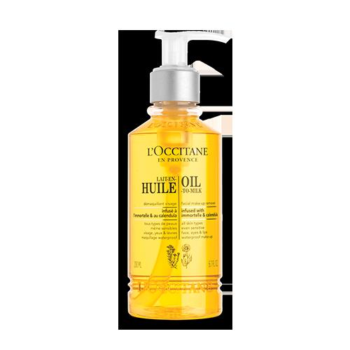 Очищающее масло для лица с календулой и иммортелем