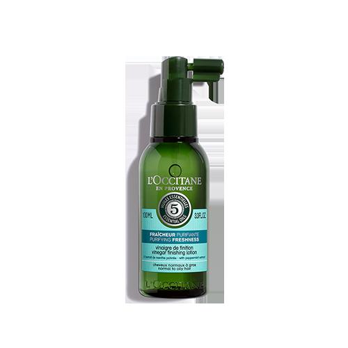 Растительный уксус для сияния волос Аромакология Живительная свежесть