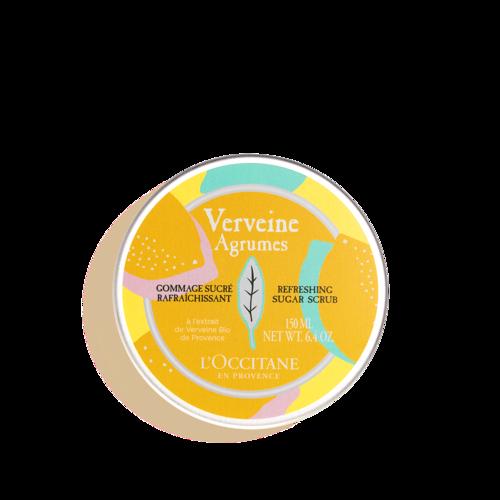 Сахарный скраб для тела Вербена-Цитрус