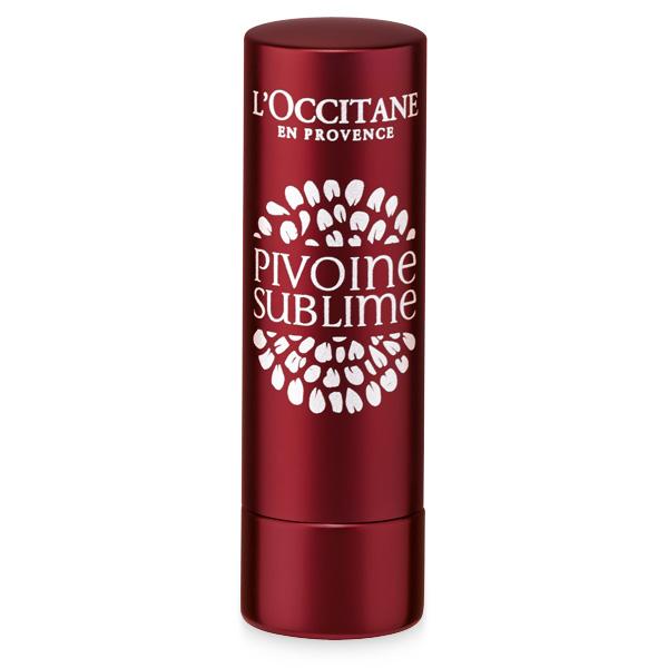 Бальзам для губ Пион (красный) (L'Occitane)