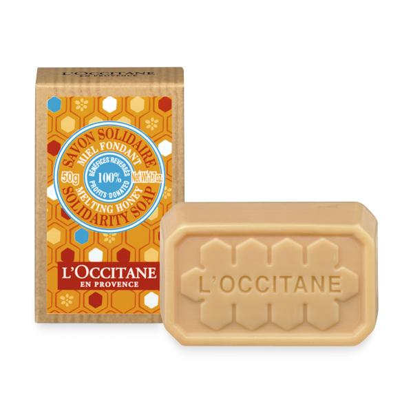 Благотворительное мыло Мёд-Карите (LOccitane)