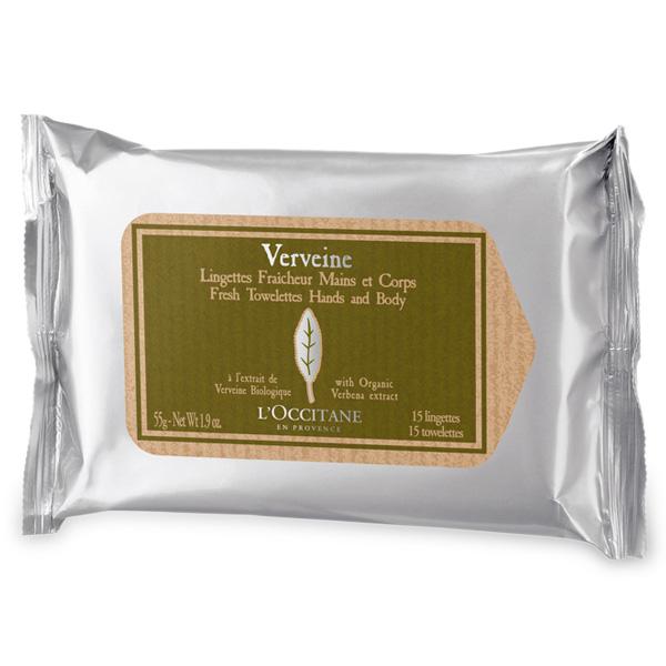 Салфетки Освежающие Вербена (LOccitane)