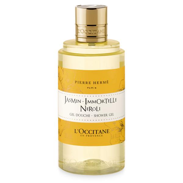 Гель для душа Жасмин-Иммортель-Нероли (LOccitane)