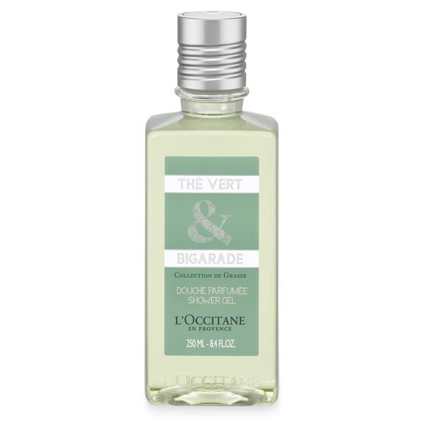 Гель для душа Зелёный Чай и Горький Апельсин (LOccitane)