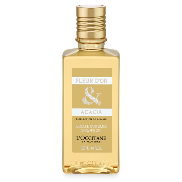Гель для душа Золотые цветы и Акация (LOccitane)