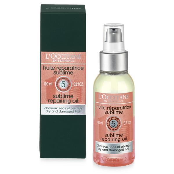 Двухфазное восстанавливающее масло для волос Аромакология (L'Occitane)