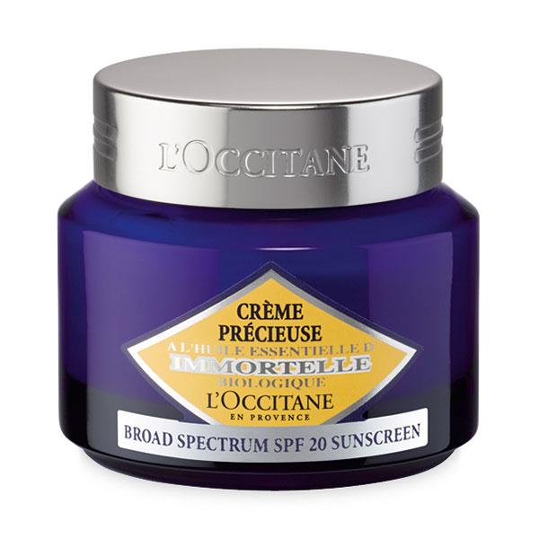 Защитный крем Иммортель SPF20 (LOccitane)