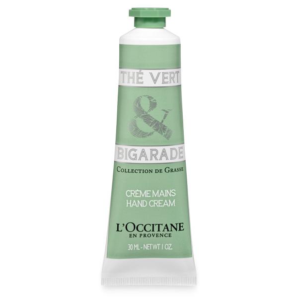 Крем для рук Зеленый чай и Горький Апельсин (LOccitane)
