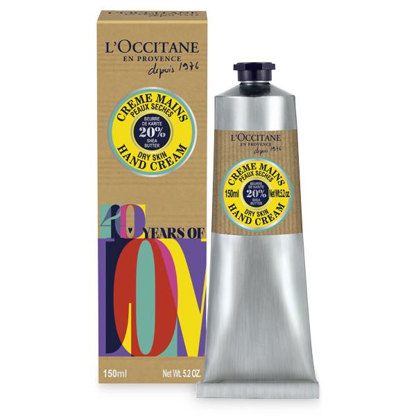 Крем для рук Карите, юбилейное издание 40 лет ЛОкситан (LOccitane)