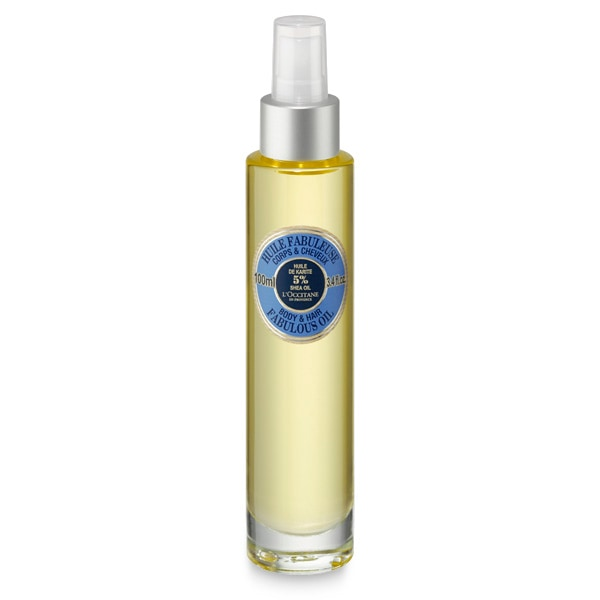 Чудодейственное масло Карите для тела и волос (LOccitane)