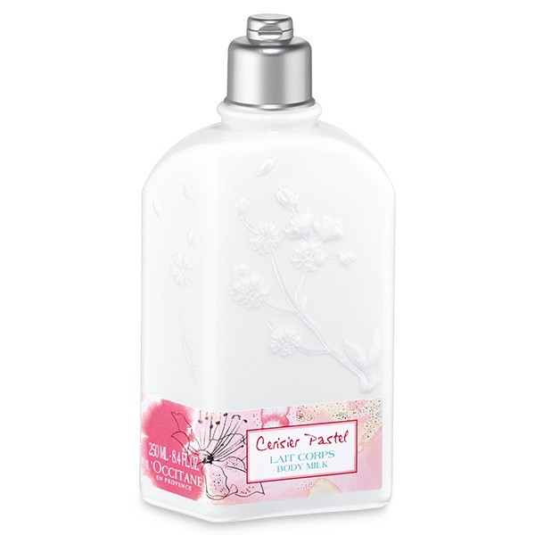 Молочко для тела увлажняющее Вишнёвая Акварель (LOccitane)