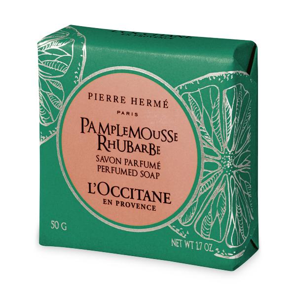 Мыло Грейпфрут-Ревень (LOccitane)