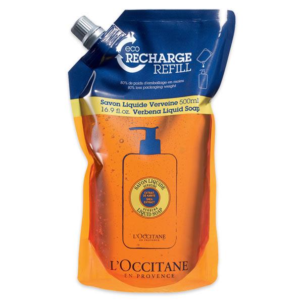 Мыло жидкое Вербена, сменный блок (LOccitane)