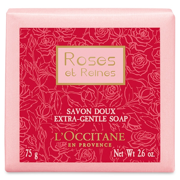 Мыло Роза 4 Королевы (LOccitane)