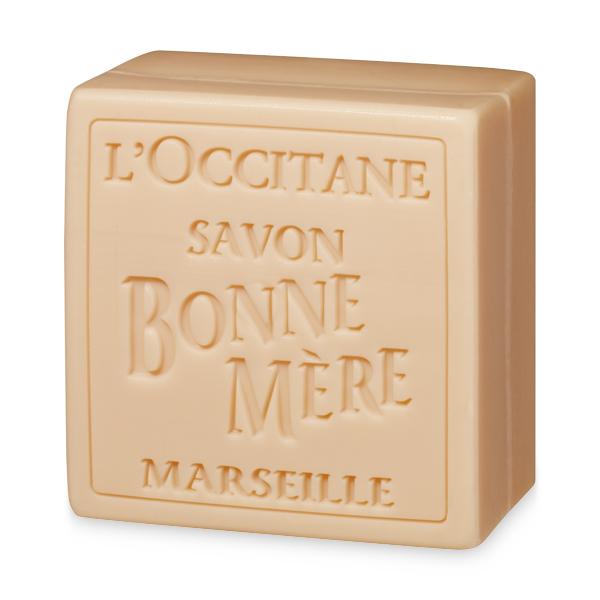 Мыло туалетное Bonne Mere Персик (LOccitane)