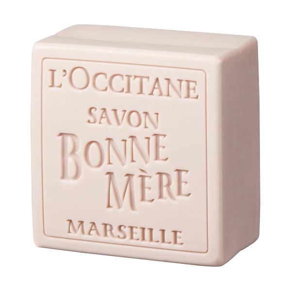 Мыло туалетное Bonne Mere Роза (LOccitane)