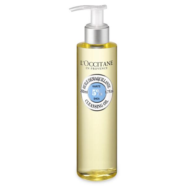 Очищающее масло для умывания Карите (LOccitane)