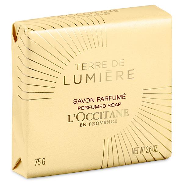 Парфюмированное мыло TERRE DE LUMIERE (твёрдое) (LOccitane)