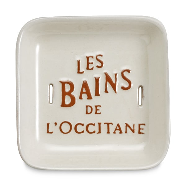 Подставка для мыла керамическая Bonne Mere (LOccitane)