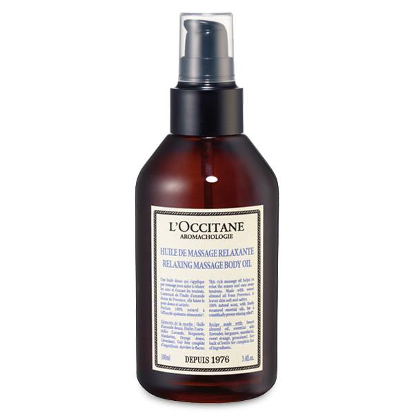 Loccitane Расслабляющее масло для массажа Аромакология