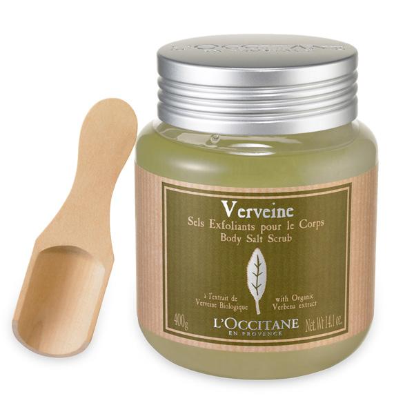 L'Occitane Соль-скраб для тела Вербена