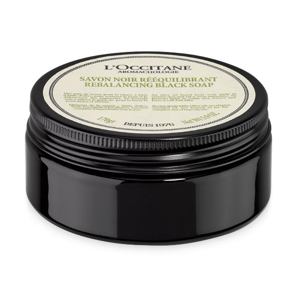 Loccitane Очищающее черное мыло для тела Аромакология
