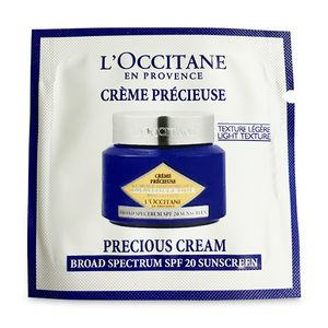 Immortelle Precious Protection is a SPF 20 - sample