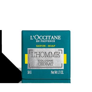 Klasické mydlo L'Homme Cologne Cedrát