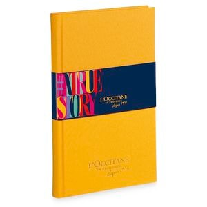 L'Occitane 40 years notebook for FREE