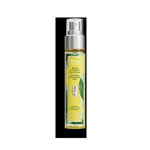 Povzbudzujúci sprej na vlasy a telo Citrus Verbena