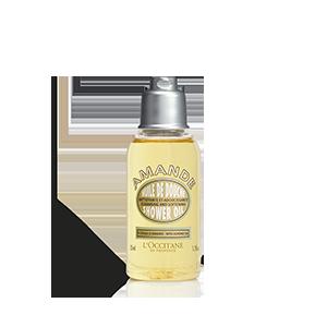 Sprchovací olej Mandľa