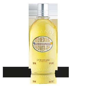 Sprchovací olej Mandľa – limitovaná edícia