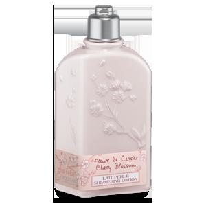Trblietavé telové mlieko Čerešňový kvet