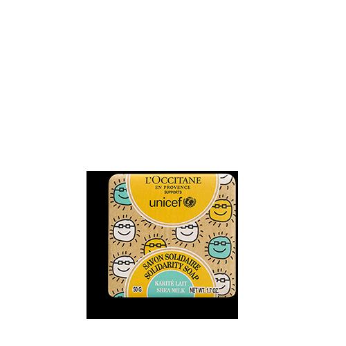 Charitatívne mydlo na podporu UNICEF Bambucké maslo