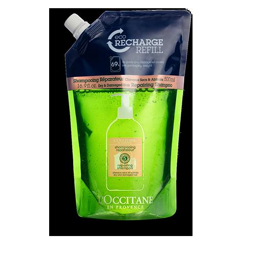 Šampón na suché a poškodené vlasy – Eko náhradná náplň