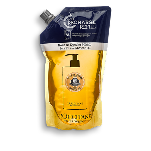 Sprchovací olej Bambucké maslo – náhradná náplň