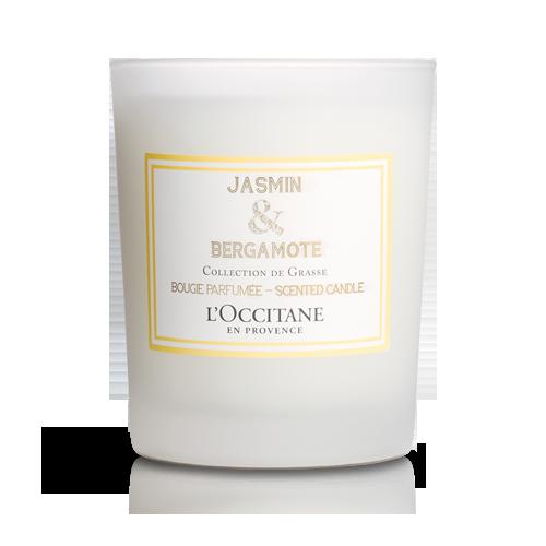 Vonná sviečka Jazmín & Bergamot