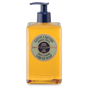 Almond Shea Butter Liquid Soap