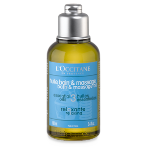 Relaxing Bath and Massage Oil