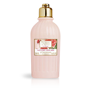 Mleko za telo Rdeče vrtnice