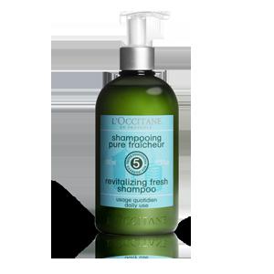 Poživljajoči šampon za svežino