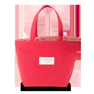 Rožnata nakupovalna torbica