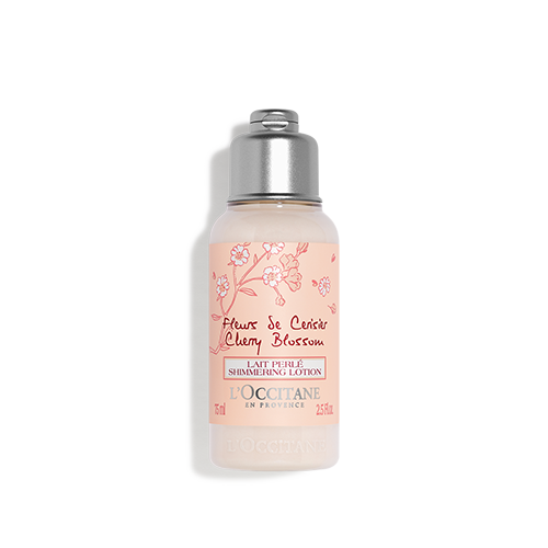 Cherry Blossom Shimmering Lotion travel size