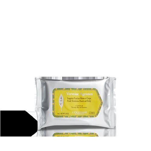 Fresh Towelettes Hands and Body Citrus Verbena