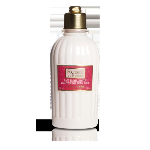 Lepotilno mleko za telo Vrtnice in kraljice