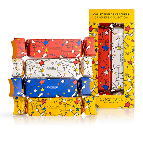 L'Occitane Festive holiday crackers