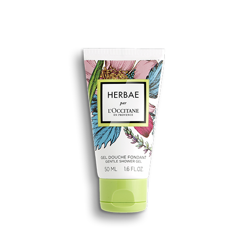 Nežni gel za prhanje Herbae