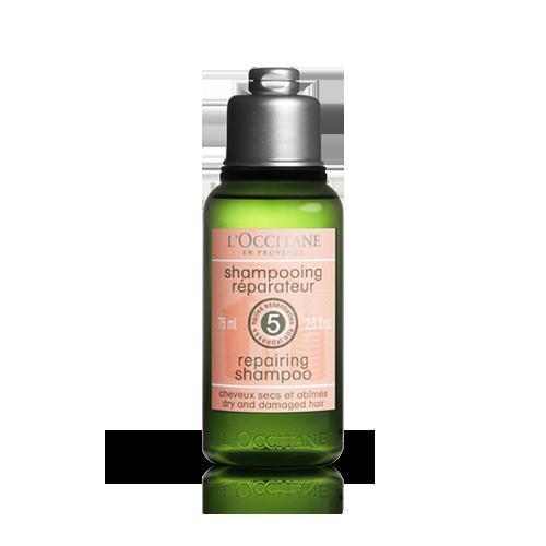 Obnavljalni šampon za suhe in poškodovane lase – potovalna velikost