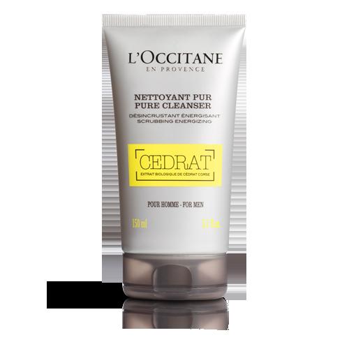 Očiščevalni gel za obraz Cedrat