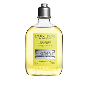 CÉDRAT SHOWER GEL (250ml)
